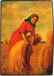 "M.Chijov. ""Harvest-woman"""