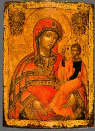 "Icone ""The Virgin of Smolensk"""