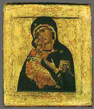 "Icon ""The Virgin of Vladimir"""