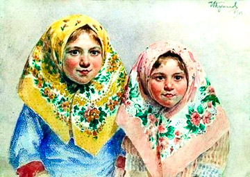"I.Kulikov. ""The sisters """